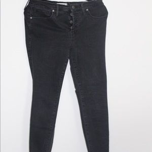 Madewell Black skinny Jean